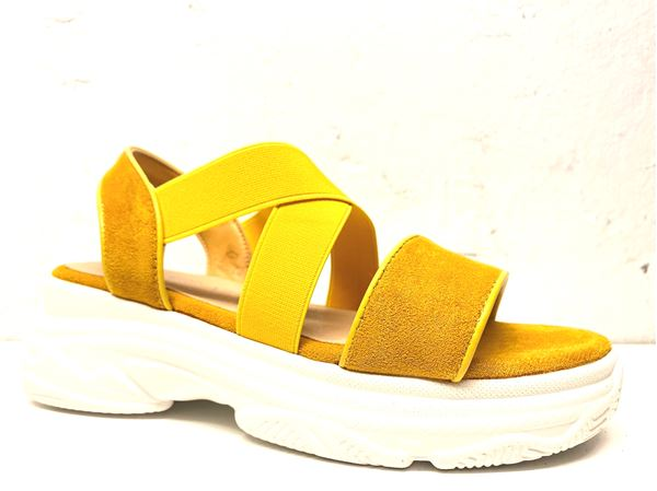 Sandal Donna Girl yellow